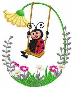 BORBOLETAS & JOANINHAS E ETC. Ladybug Rocks, Ladybug Art, Ladybugs, Machine Embroidery Patterns, Applique Patterns, Hand Embroidery, Ladybug Picnic, Zentangle Drawings, Paper Crafts Origami