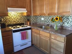 TODAY tests temporary backsplash tiles from Smart Tiles - TODAY.com