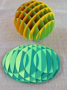 Papercrafts and other fun things: Sliceforms are my new obsession