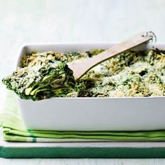 Spinach Lasagne with Goat Cheese!