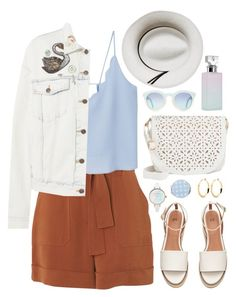 """""""Love in the city"""" by touxe ❤ liked on Polyvore featuring Whistles, MANGO, Marc Jacobs, Under One Sky, Calypso Private Label, Calvin Klein and Miss Selfridge"""