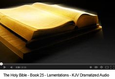 Lamentations 5 Chapters Time: 20:00