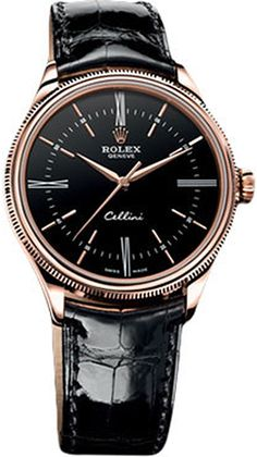 Buy the Rolex 50505 bkbr Cellini Time Watch at a discount price. Complete selection of Luxury Brands. All current Rolex styles available. Dream Watches, Fine Watches, Luxury Watches, Cool Watches, Rolex Watches, Watches For Men, Wrist Watches, Rolex Cellini, Swiss Army Watches