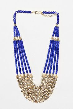 Urban Outfitters: Grotto Beach Beaded Necklace