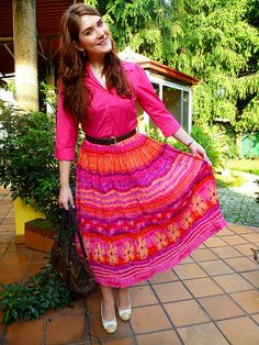 A line skirt a must have for Pear Shaped women