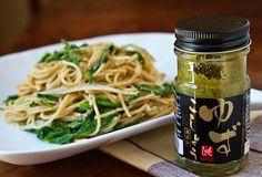 Arugula & Burdock Root Yuzu Kosho Cream Pasta Adapted from  うーらのオーガニックレシピ手帖 by Tomoko Shoji Makes approximately 5 servings 1 piece (approximately 10 inches in length) gobo (burdock root) 10 ounces whole wheat angel hair pasta 1 1/4 cups (10 ounces) plain soymilk 2 tablespoons toasted white sesame seeds 2 teaspoons yuzu koshou 1 tablespoon olive oil 4 …