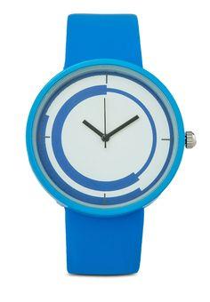 Something Borrowed นาฬิกาข้อมือ Circular Rim Graphic Face   ZALORA THAILAND created by #ShoppingIS