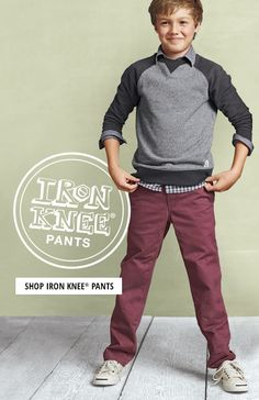 Lands' End fall collection for boys