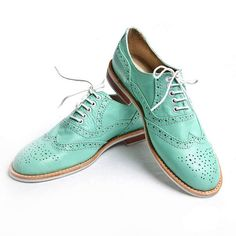 Oxford Shoes Women's Mint design inspiration on Fab.