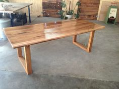 Handmade Custom Recycled Tasmanian Oak Dining Table | eBay