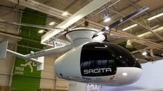 Certainly one of the more intriguing things on display at this year's Paris Air Show, the Sherpa by Belgian startup Sagita aims to make the helicopter simpler, more efficient, more reliable and more affordable.