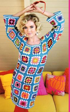 Instant DownloadGoGo Granny Dress Summer  crochet by biancastouch, $2.99