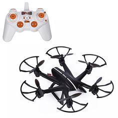 Hélicoptère Télécommande Yokkao;reg& X800 Drone Radio Commandé LED 2.4Ghz Mini UFO Extérieur RC FPV Quadcopter jusqu'à 100m: FPV…
