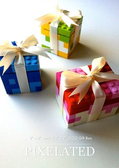 How To Build a LEGO Gift Box / Present   Custom LEGO Instructions ...