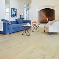 Malibu Wide Plank Maple Manhattan 3 8 in  Thick x 6 1 2 in  Wide x     Malibu Wide Plank French Oak Salt Creek 3 8 in  Thick x 6 1 2 in  Wide x  Varying Length Click Lock Hardwood Flooring  23 64 sq  ft  case