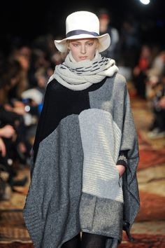 Y-3 Fall 2012 : last years poncho still looks good