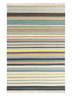 Teppich Kashba Splendid 160 x 230 cm, helle Streifen