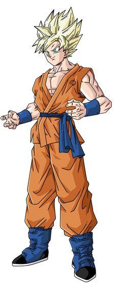 Goku Super Saiyan by BardockSonic