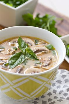 Thai Red Curry Soup @Oh My Veggies