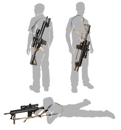 If you have a long rifle. Be very mobile. Military Gear, Military Weapons, Tactical Equipment, Tactical Gear, Arsenal, Tac Gear, Cool Guns, Airsoft Guns, Guns And Ammo
