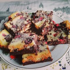 Csokis Krémsajtos-málnás márványos Brownie, csodás lett - Egyszerű Gyors Receptek