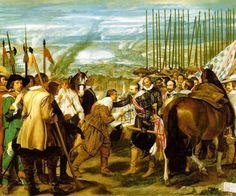 La rendición de Breda. Velázquez. - Museo Del Prado