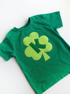 St. Patrick's Day shirt for the Little Miss- Cutey ;))