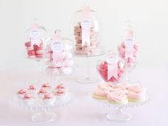 Sweet & Simple Dessert Buffet - Romantic DIY Wedding Ideas on HGTV