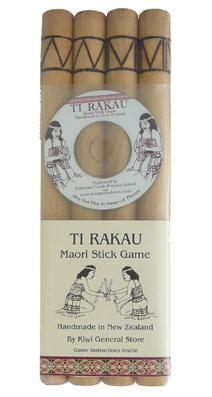 Ti Rakau Maori Stick Game and CD