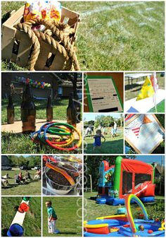 field day birthday party