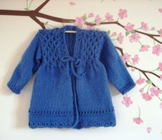 Isla baby jacket..knitting pattern ..designed by Lynn Hamps/Wightstitches. http://www.ravelry.com/patterns/library/isla-9