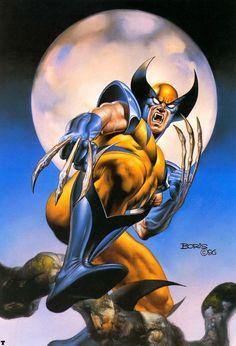 Boris Vallejo - Wolverine