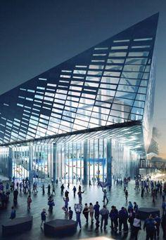 Rupp Arena, NBBJ, world architecture news, architecture jobs