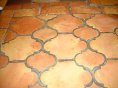 Saltillo San Felipe And Fleur De Lis Tiles Together They Make A Riviera Pattern