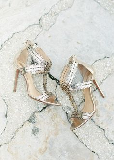 9930c9310926f3 How about a little non traditional sparkle to your wedding day shoes  Love  these heels