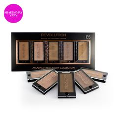 #Pure #Eyeshadow Collection