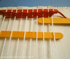 Weaving shop- how to make a loom for weaving