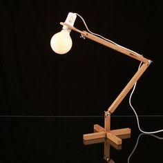 Fancy - Wooden Table Lamp