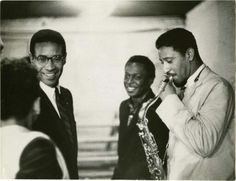Max Roach, Miles Davis, Sonny Rollins shot by photographer Robert Parent at the Music Inn in Lenox, MA, on August 30, 1956