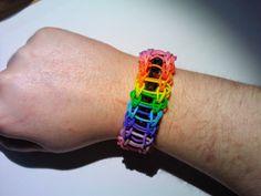 Pulseras de gomas I | Fabricando Arte - Rainbow loom
