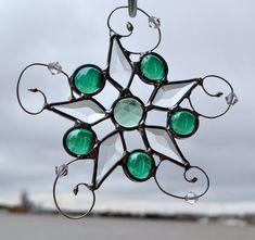 Star Light Star Bright Stained Glass Suncatcher by dortdesigns