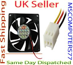 120mm 12cm Tower Desktop PC Cooling Fan for IDE 3 Pin Computer Games System Case