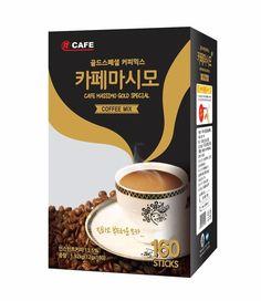 CNF Korea Cafe Massimo Gold Special 160T Coffee Mix Best Quality 12g x 160Sticks #CNFKorea