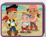 Free jake and neverland pirates coloring pages