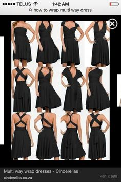 Convertible / multiway dress