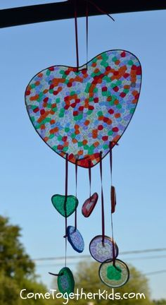 Come Together Kids: Melted Bead Suncatchers