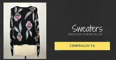 Buscas un sweater con onda?? Mira estos!! 🎆🎆🎆🎆 Just in!! shop now: www.comoabejaalpanal.com.ar