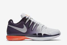 premium selection 5b94d b8c94 NikeCourt Zoom Vapor 9.5 Tour Men s Tennis Shoe  Pure Platinum Purple  Dynasty Total Crimson Metallic Silver