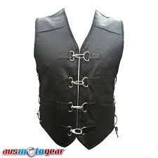 Have a glance at stylish and high quality collection of leather vests online on Aus Motogear at higher discounts and free shipping in Australia. Visit now! http://ausmotogear.com.au/leather-vests.html