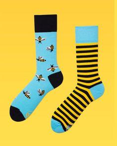 Hombres Bee Bee Calcetines calcetines calcetines de colores padres POR ManyMornings
